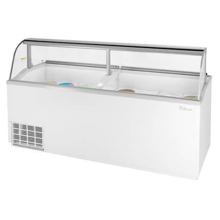 "Turbo-Air 28 Tub Ice Cream Dipping Cabinet 89""W"