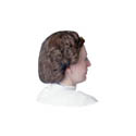 Brown 24\x22 Nylon Hairnet 100-Pack