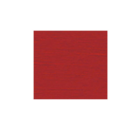 "4-Gauge Red Pearlized Linen Vinyl Tablecloth 52"" x 52"""