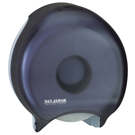 San Jamar Single Jumbo Roll Toilet Tissue Dispenser