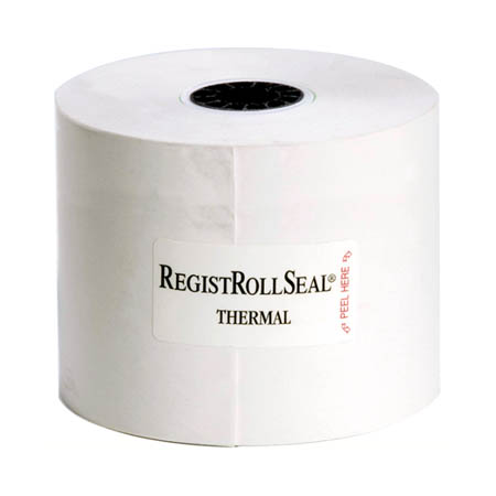 "National Checking 2-1/4"" Thermal 1-Ply Cash Register Tape Rolls 10-Pack"