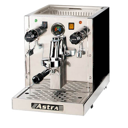 Astra Stainless Steel Gourmet Semi Automatic Cappuccino and Espresso Machine
