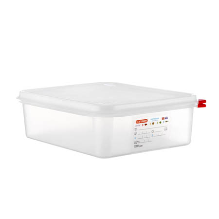 "Araven 6.8-Quart Polypropylene Food Storage Container 12-3/4"" x 10-1/2"" x 4"""