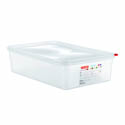 Araven 14.4-Quart Polypropylene Food Storage Container 20-3/4\x22 x 12-3/4\x22 x 4\x22
