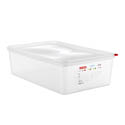Araven 22.2-Quart Polypropylene Food Storage Container 20-3/4\x22 x 12-3/4\x22 x 6\x22