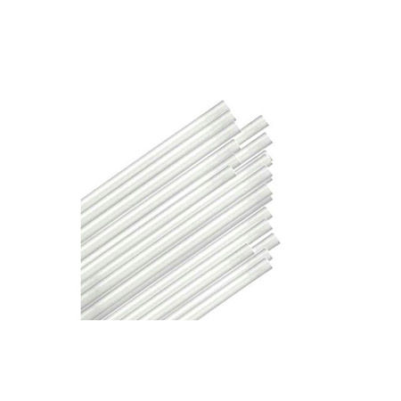 "7-3/4""L Unwrapped Beverage Straws 500-Count"