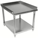 Sauber Stainless Steel Equipment Stand with 2\x22 Risers 36\x22W x 30\x22D x 24\x22H