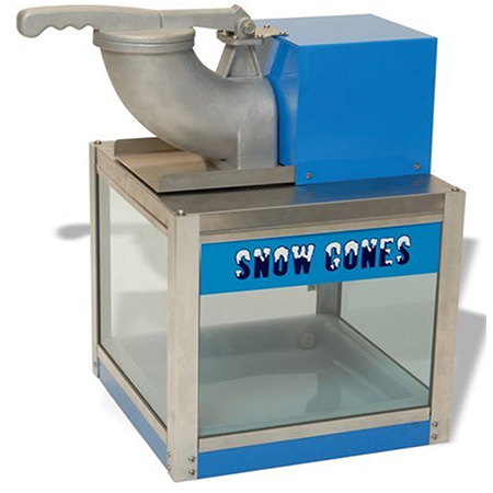 "Benchmark USA Snow Bank Snow Cone Machine 16""W"