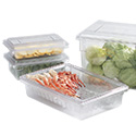 Carlisle Clear Food Storage Boxes & Covers