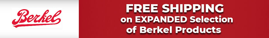 Expanded Selection & Free Shipping on Berkel Commercial Restaurant Equipment