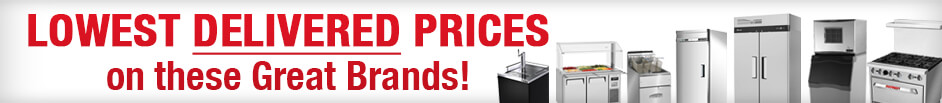 Commercial Equipment Lowest Delivered Prices