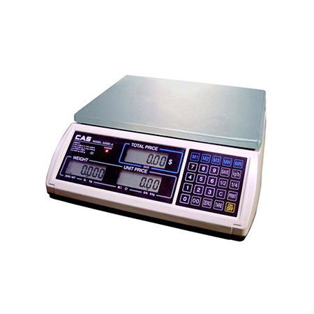 CAS 30 lb. x 0.1 oz. Digital Price Computing Scale