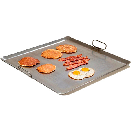 "Rocky Mountain Cookware Four-Burner Lift-Off Griddle 23""W"