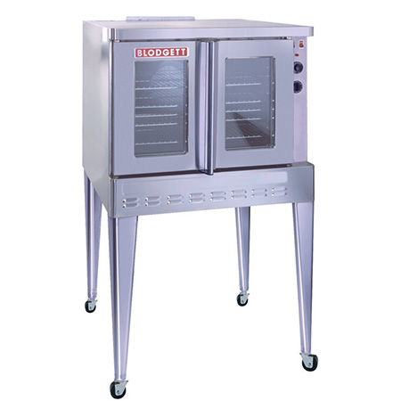 Blodgett Full Size Single Deck Natural Gas Convection Oven with Legs and Casters