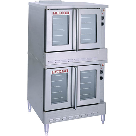 Blodgett Full Size Double Deck Natural Gas Convection Oven with Legs