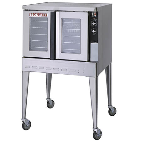 "Blodgett Zephaire Bakery Depth Single Deck Natural Gas Convection Oven with Casters 38-1/4""W"