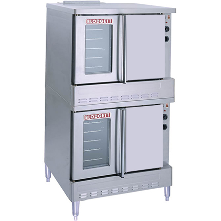 Blodgett Full Size Double Deck Liquid Propane Convection Oven with Legs