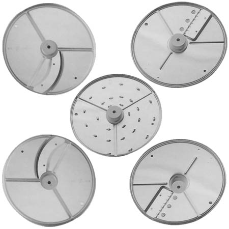 5 Blade Disc Pack for Use with Select Robot Coupe Food Processors