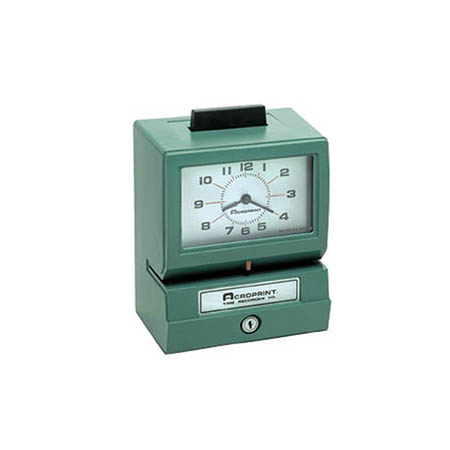 Acroprint Push Bar Time Clock