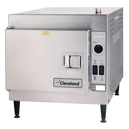 "Cleveland SteamCraft Ultra 3-Pan Electric Food Steamer 21""W"