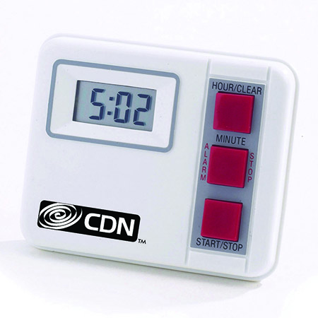 CDN 20-Hour Digital Timer with Pocket Clip