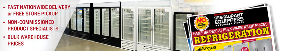 Commercial Refrigerators Freezers