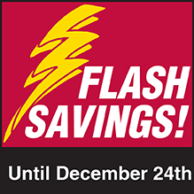 Shop Restaurant Equippers Flash Savings Event