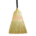 56\x22 Corn Broom Natural Handle