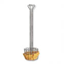 Long Handle Fry Basket for Traditional Taco Salad Bowl 25\x22 x 6-1/4\x22