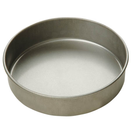 "Focus Round Aluminized Steel Cake Pan 7"" x 2"""