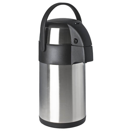 Focus 2.5 Liter Stainless Steel Airpot with Pump