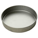 "Focus 2"" Deep 10"" Round Aluminized Steel Cake Pan"