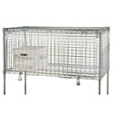 Focus Chrome-Plated Wire Security Shelf Module 24\x22 x 48\x22