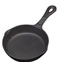 Tomlinson 8\x22 Naturalcast Cast Iron Fry Pan