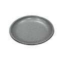 Tomlinson Aluminum Holder with Frosty Finish for 7-1/2\x22 Round Deep Dish Dinner Platter
