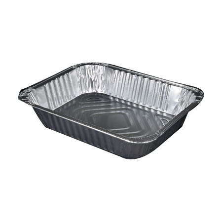 "1/2 Size Aluminum Food Pan 2-9/16"" Deep"