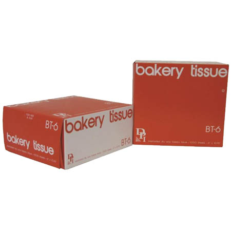 "Bakery Tissue Sheets 6"" x 10-3/4"""