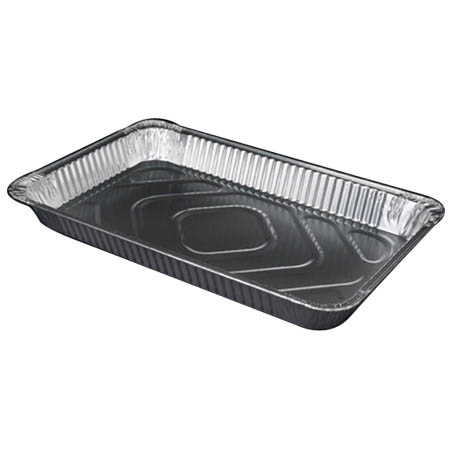 "Full Size Aluminum Food Pan 2-3/16"" Deep"