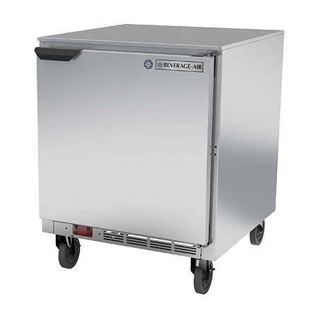 Beverage-Air 6.03 cu. ft. 1-Door Undercounter Freezer 27""