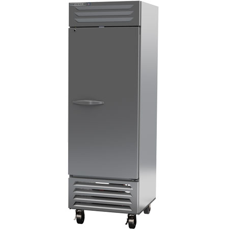 "Beverage-Air 22.5 cu. ft. 1-Door Bottom Mount Reach-In Freezer 27-1/4""W"