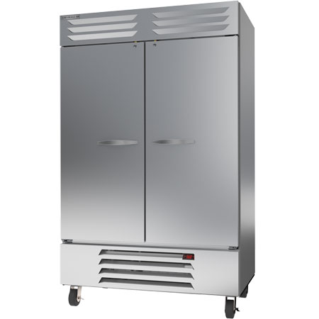 "Beverage-Air 49 cu.ft. 2-Door Bottom Mount Reach-In Freezer 52""W"