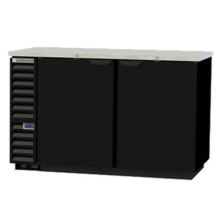"Beverage-Air Stainless Steel Top Back Bar Cooler 59""W"