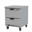 "Beverage-Air 6.13 Cu. Ft. Worktop Freezer 27""W"