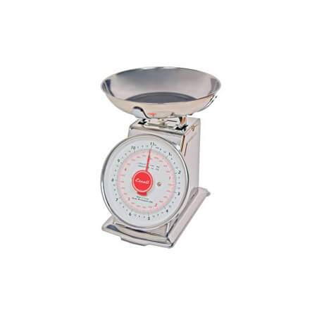 Escali 11 lb. x 1 oz. Mechanical Dial Scale with Bowl