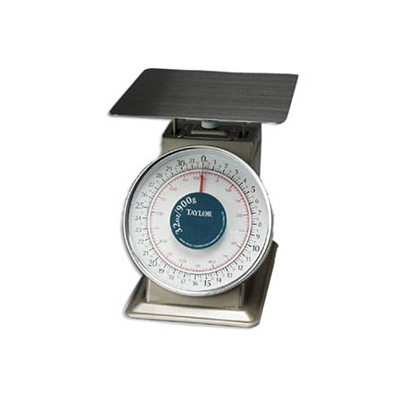 Taylor 32 oz. x 0.125 oz. Heavy Duty Mechanical Portion Control Scale