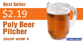 Carlisle Poly Beer Pitcher