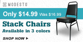 Price Break on Modesto Stack Chairs