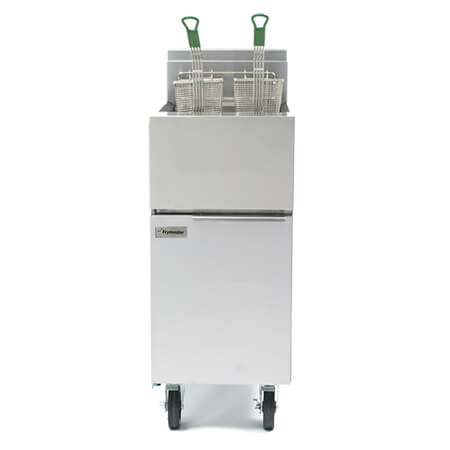 Frymaster 40 lb. Open Pot Gas Floor Fryer 100,000 BTU