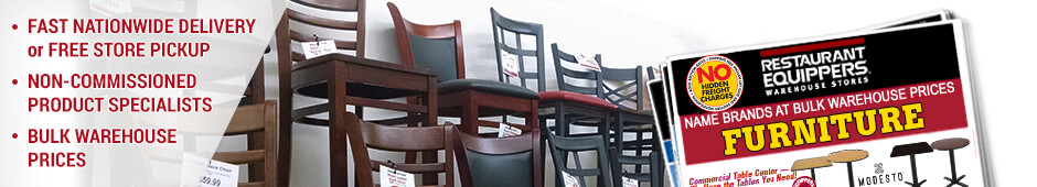 Restaurant Furniture; Commercial Tables, chairs, and more - Restaurant Equipment