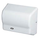 American Dryer Automatic Electric Hand Dryer with White Steel Cover
